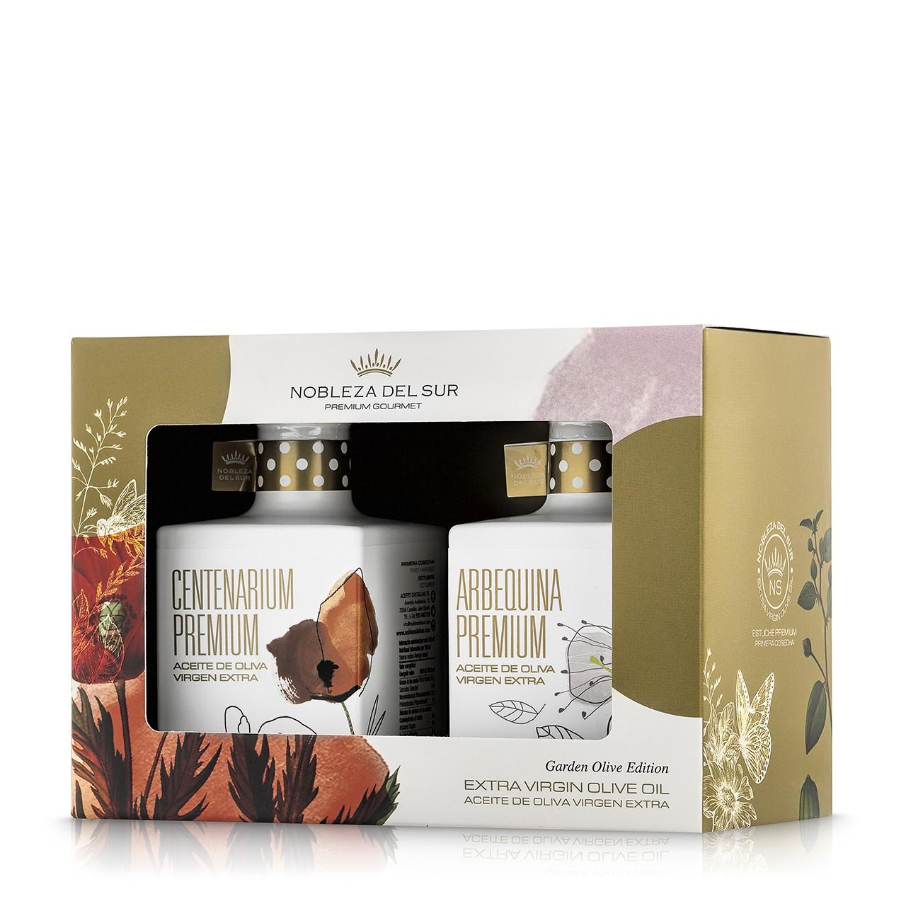 Garden Premium Case Nobleza del Sur oliwa extra virgin 2x350 ml
