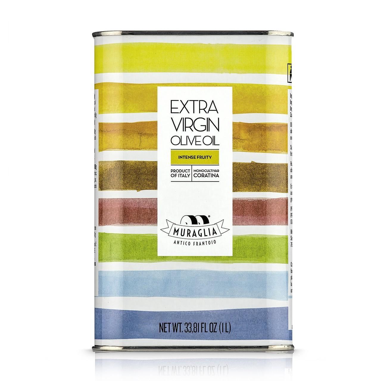 Fruttato Intenso Frantoio Muraglia – Rainbow tin oliwa extra virgin 1L