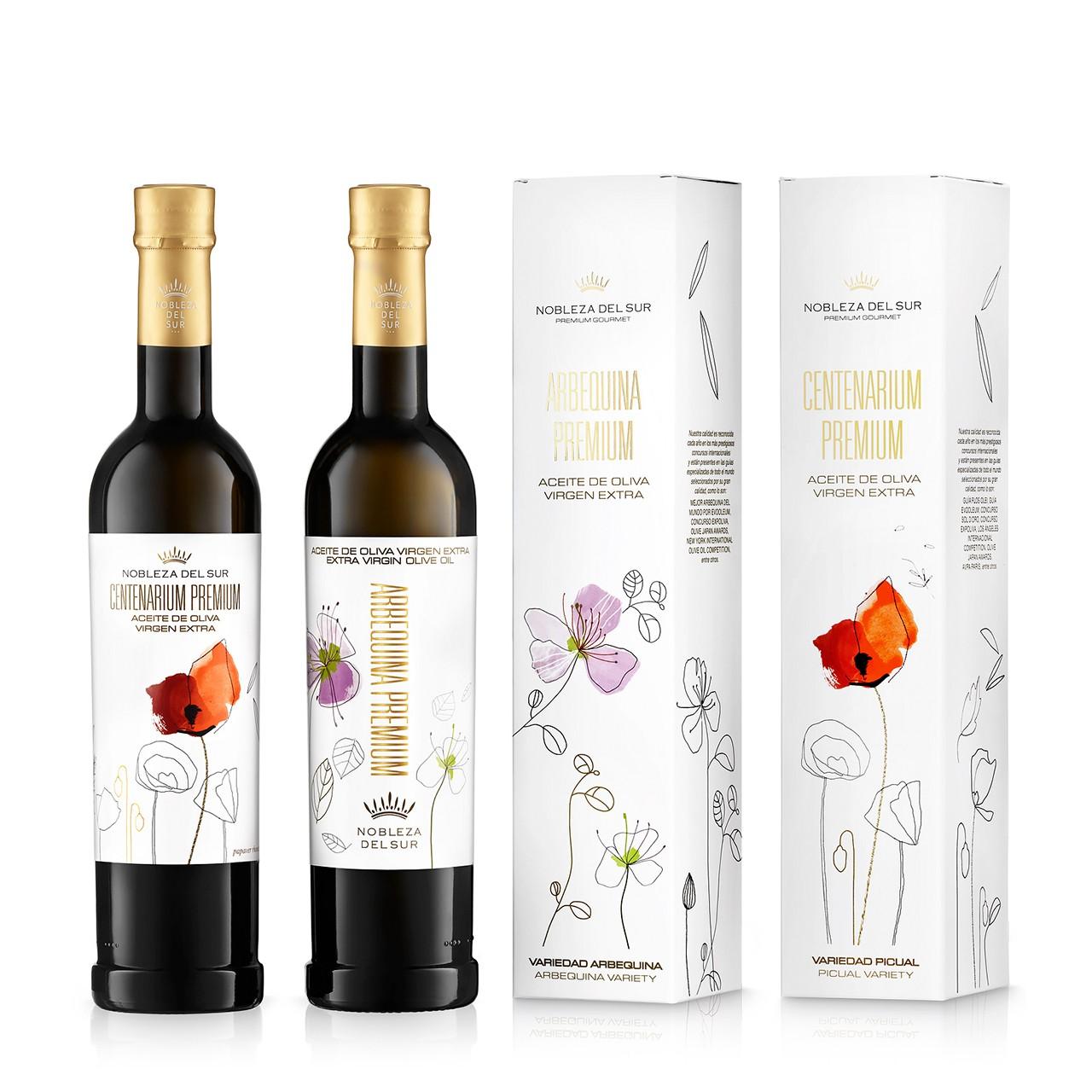 Nobleza del Sur Classic set oliwa extra virgin 2x500 ml box