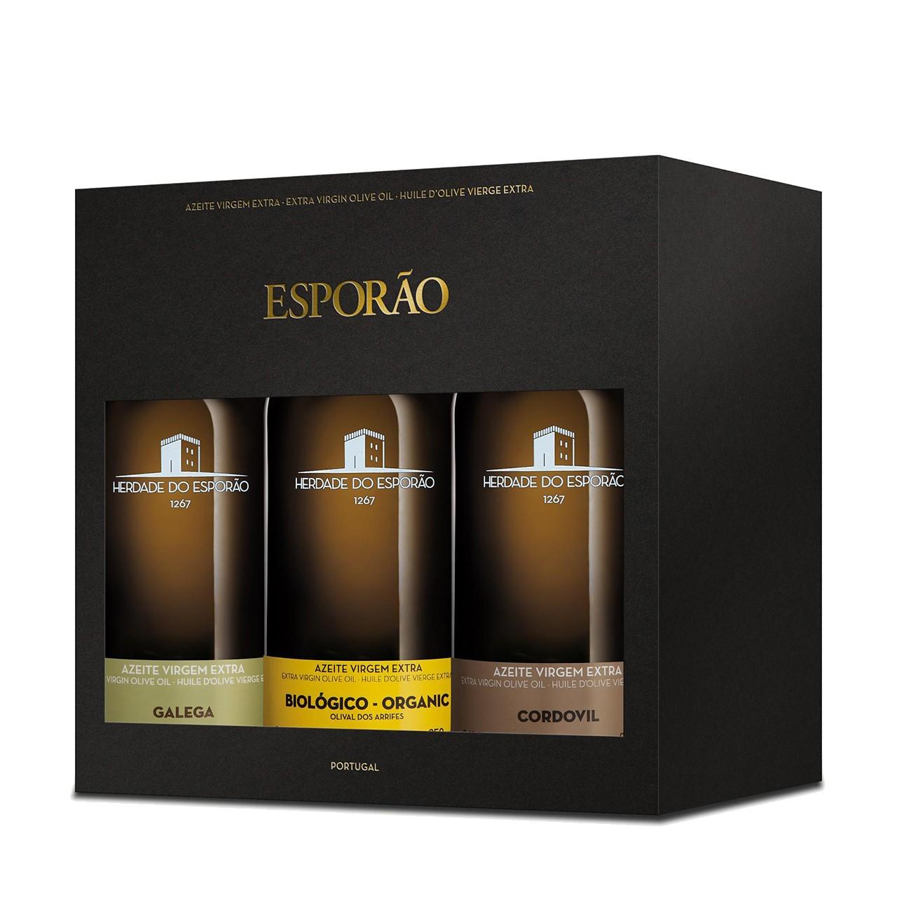 Esporao Experience 3-pack, oliwa extra virgin 3x250 ml