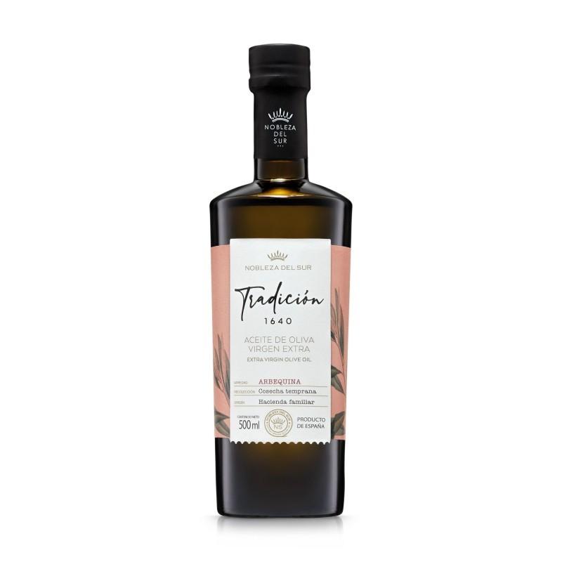 Tradicion 1640 Arbequina Nobleza del Sur oliwa extra virgin 500 ml